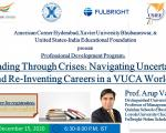 Professional Development Program for students, scholars, and professionals from business-related fields  organized by American Corner Hyderabad